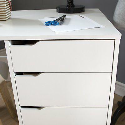 South Shore Crea Sewing Craft Table on in Pure White 7550728 New