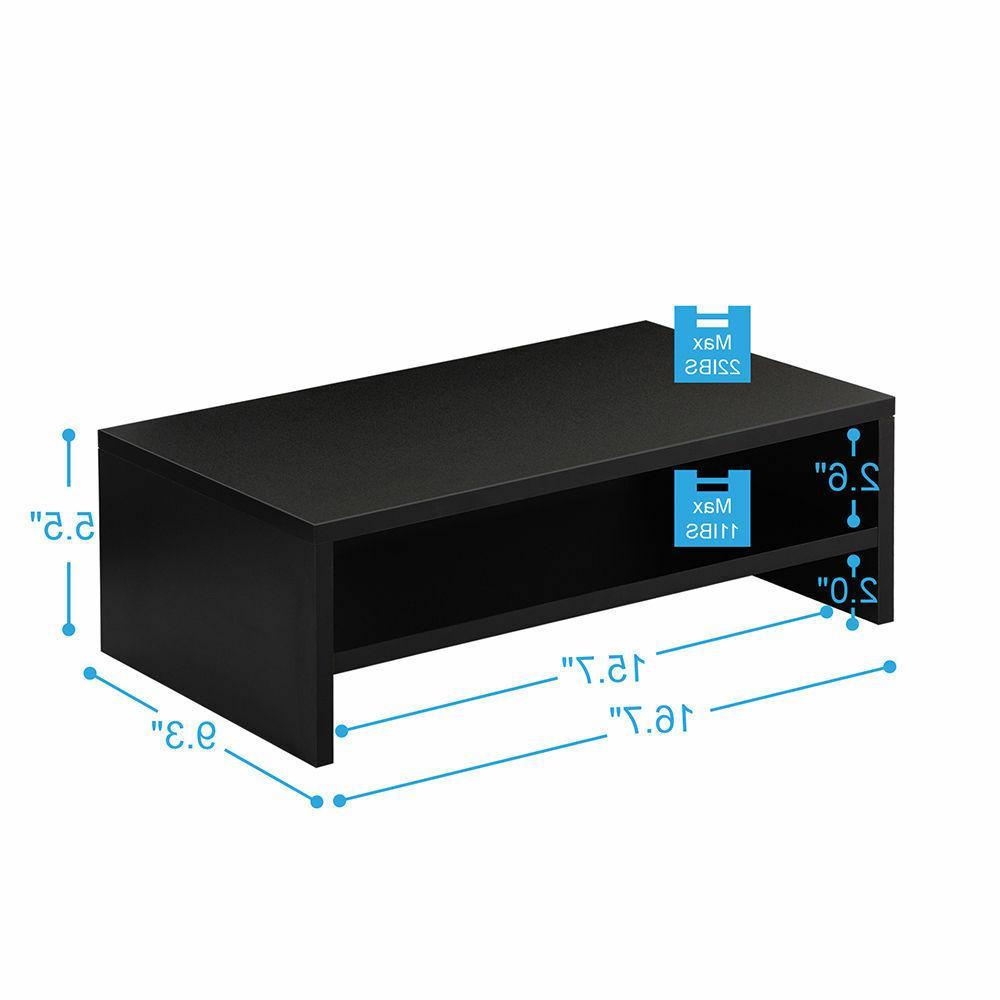 Fitueyes Desktop Monitor Stand TV Office