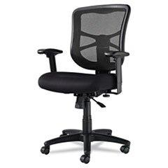 * Elusion Series Mesh Mid-Back Swivel/Tilt Chair, Black
