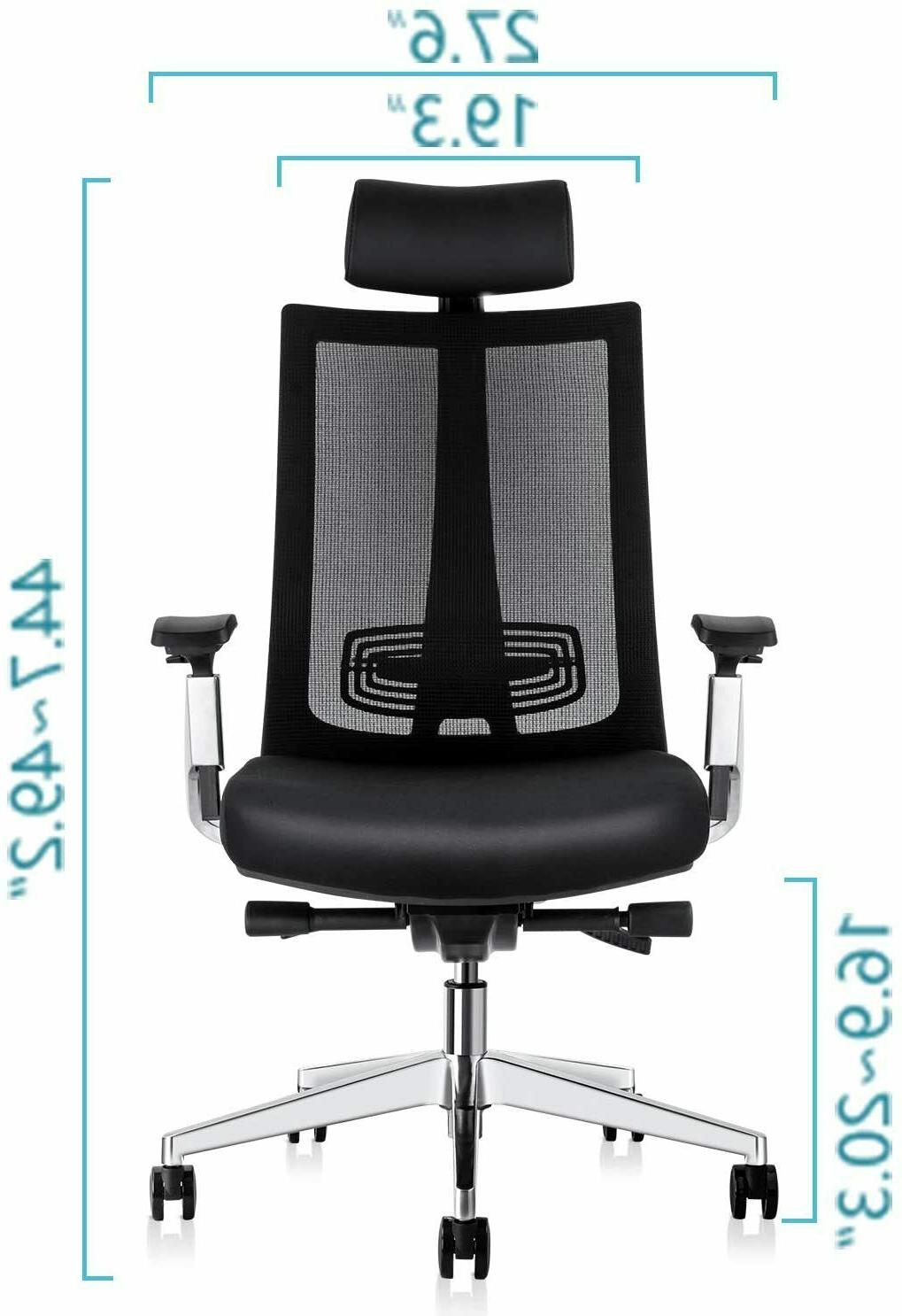 Ergonomic Adjustable Chair, with Lumbar Support