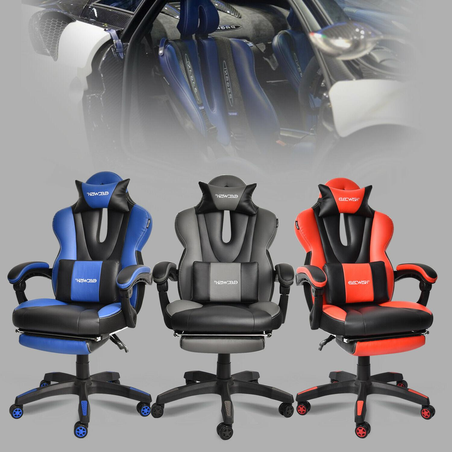 Stupendous Gaming Chair Sports Car Series Computer Racing Ergonomic Office Desk Recliner Bralicious Painted Fabric Chair Ideas Braliciousco