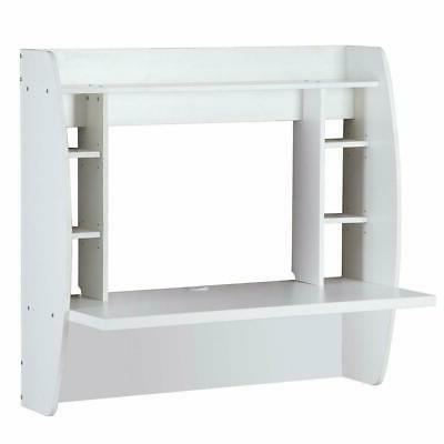 White Home Wall Mounted Desk