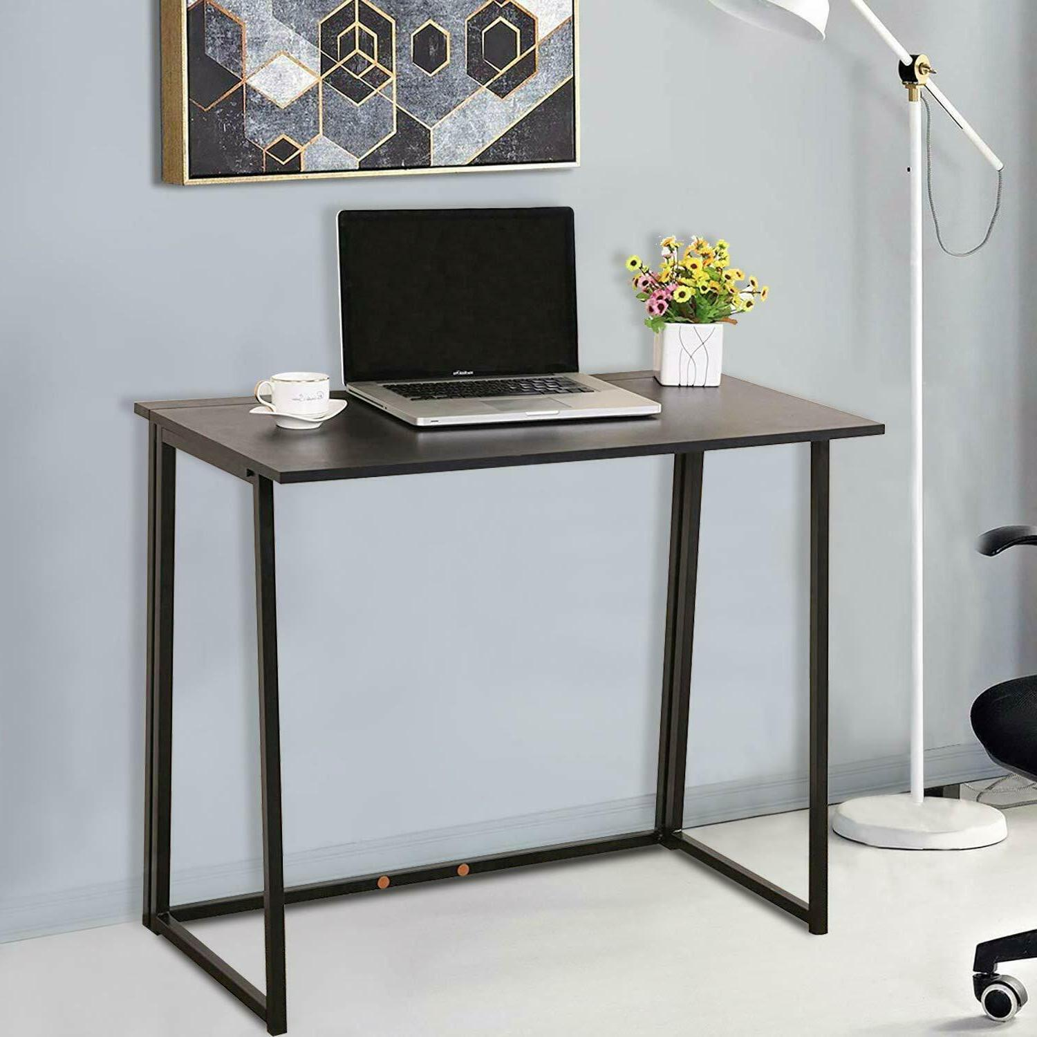 Foldable Computer Study Home Office Workstation