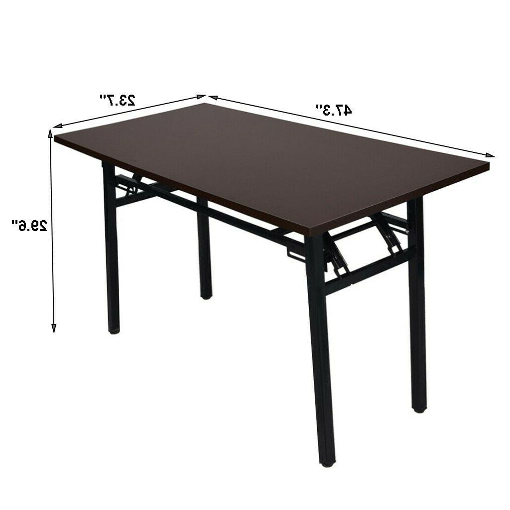 Folding PC Laptop Table Workstation Home Office