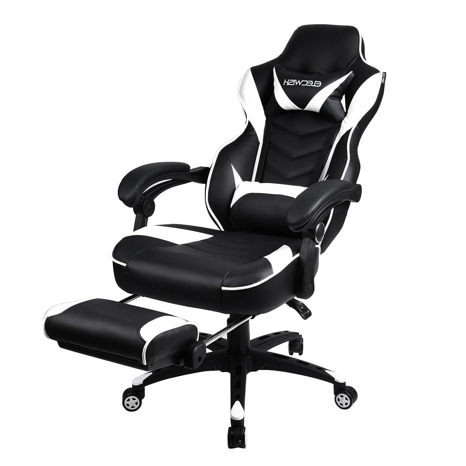 High Back Racing Style Computer Desk Recliner