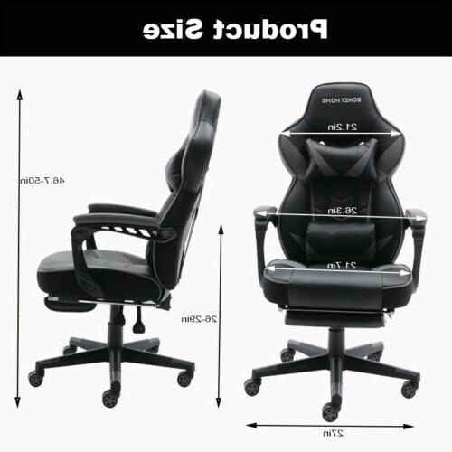 GAMING LEATHER OFFICE SWIVEL