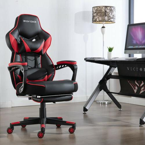 GAMING CHAIR LEATHER HIGH OFFICE DESK