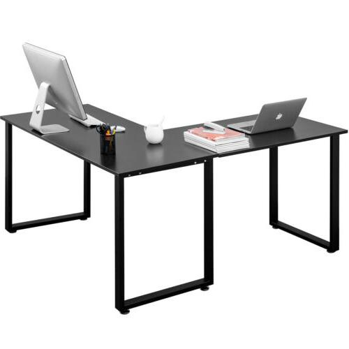 Gaming Desk Table Laptop L-shape Home workstation