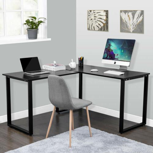 Corner Study Table L shaped for Computer Desk PC Laptop Home