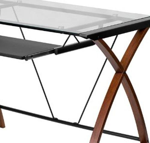 Flash Computer Desk with Tray