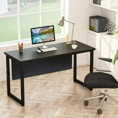 Tribesigns 55 inch Simple Style Computer Desk With Privacy P
