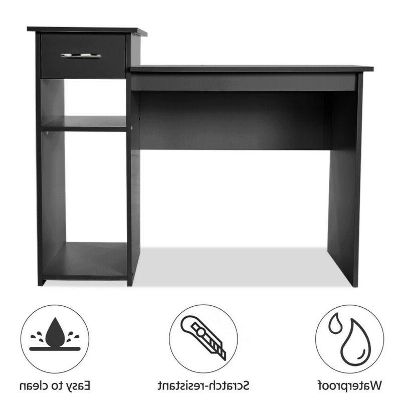 Computer Desk PC Laptop Table w/Drawer Home Office Study Wor