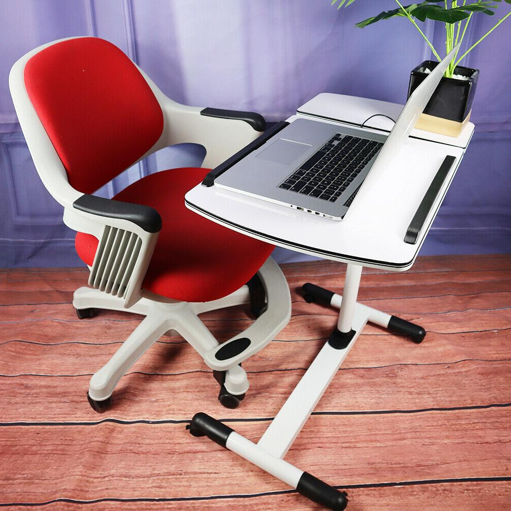 Home Office Rotating Computer Desk Table Adjustable Study