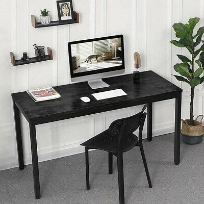 55in Home Office Computer Desk Gaming Study Writing Table Ru