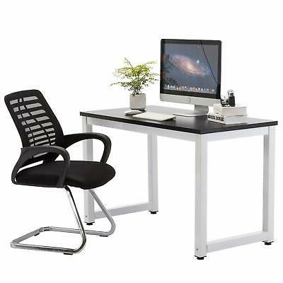 Home Computer Desk PC Table Metal Leg Workstation