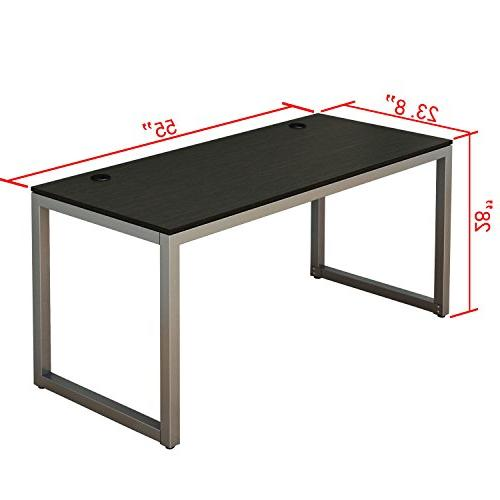 SHW Home Office 55-Inch Large Computer Desk