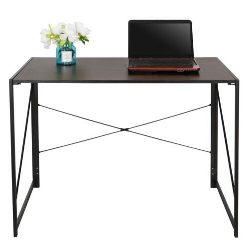 Home Office Writing Modern Study Industrial Style Folding