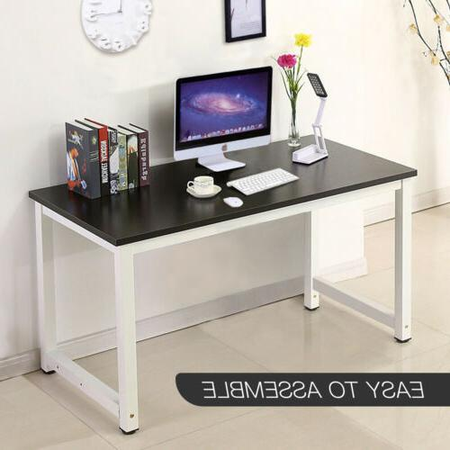 Computer Desk Wood Workstation PC Laptop Table Study Home Of