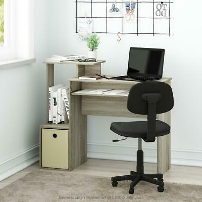 Home Student Office Desk with Storage -