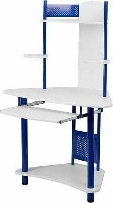 Zoomie Kids Huguenot Corner Computer Desk with Hutch