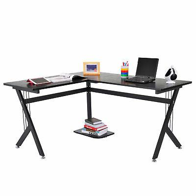 PC Wood Table Workstation Home