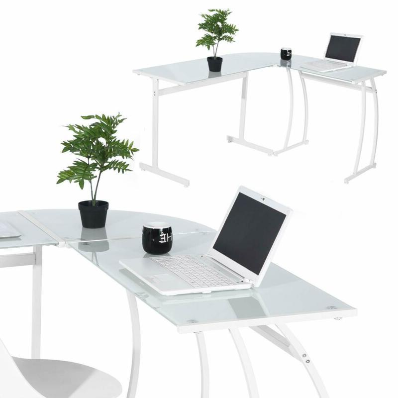 Greenforest Corner Desk Gaming Home Office With