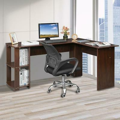 L-Shaped Desk Computer Gaming Table Save Home