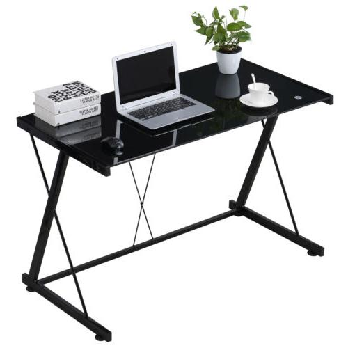Computer Desk Tempered Office Home