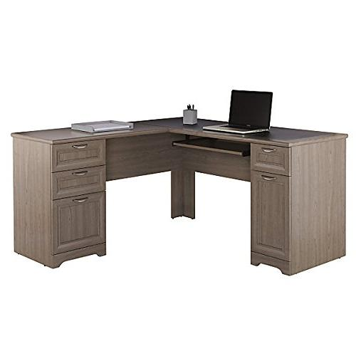 magellan collection l shaped desk