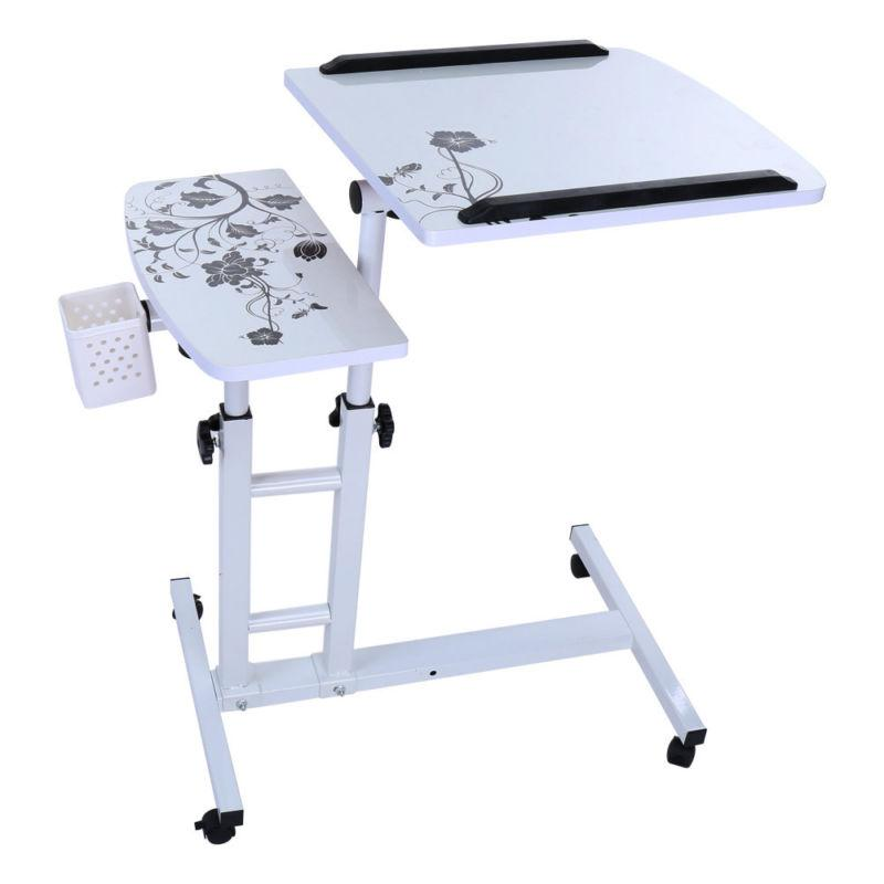 Mobile Rolling Cart Computer Laptop Table