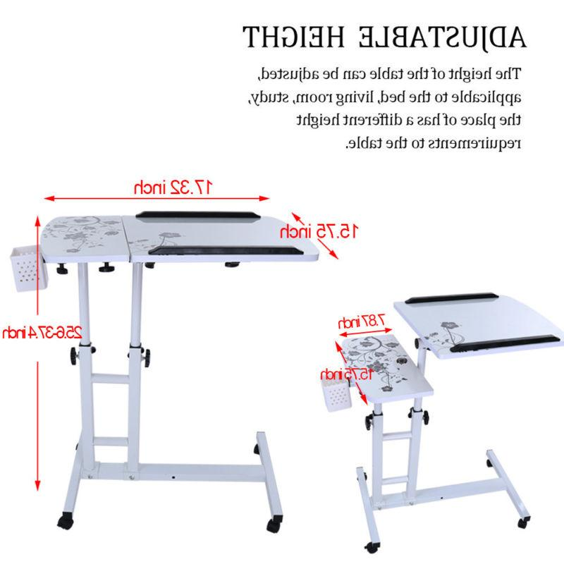 Mobile Cart Height Computer Table NJ