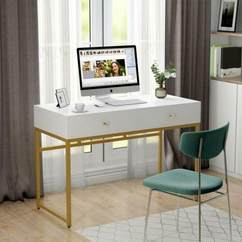 """Tribesigns 47"""" Simple Home Office Computer Desk Writing Tabl"""