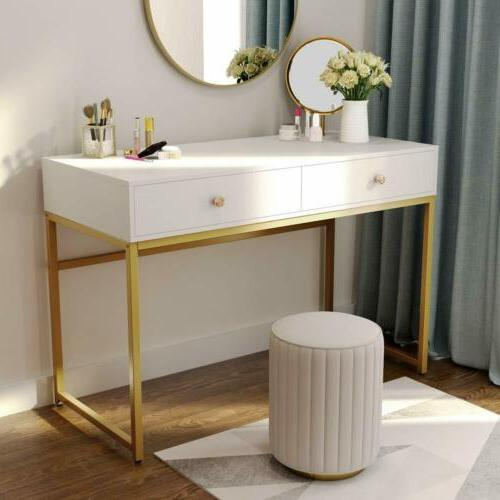 """Tribesigns 47"""" Makeup Vanity Console Table Computer Desk,Hom"""