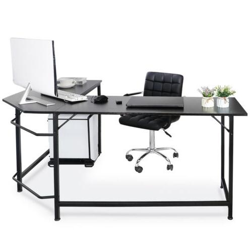 computer gaming laptop table l shaped desk