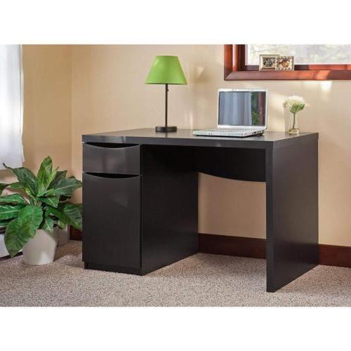 Bush Furniture Montrese Small Computer Desk Black