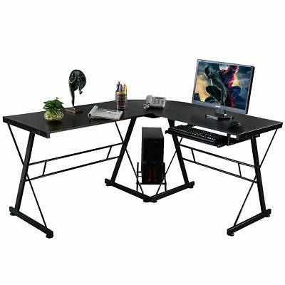 New Office Corner Desk With Tray