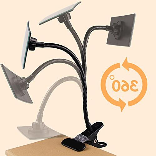 Gosear Office Clip Cubicle Mirror, Personal Safety and Desk or