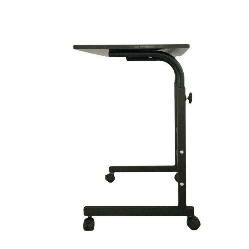 Office Desk Rolling Adjustable Portable Table Computer