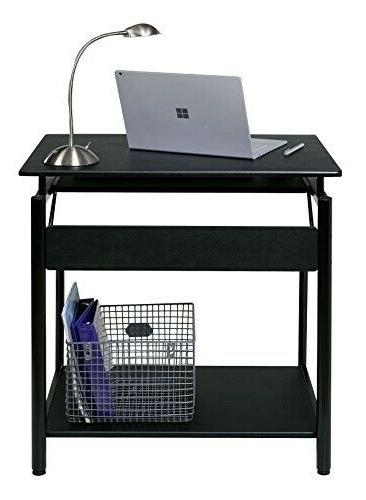 OneSpace Stanton with Pullout Keyboard Tray Corner
