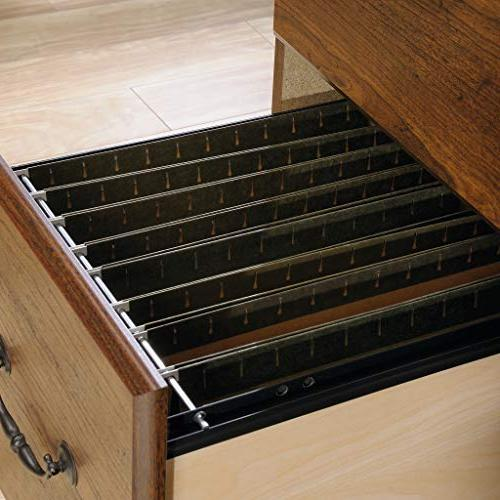 """Sauder Computer with L: 58.74"""" x 23.47"""" 57.24"""", Milled Finish"""