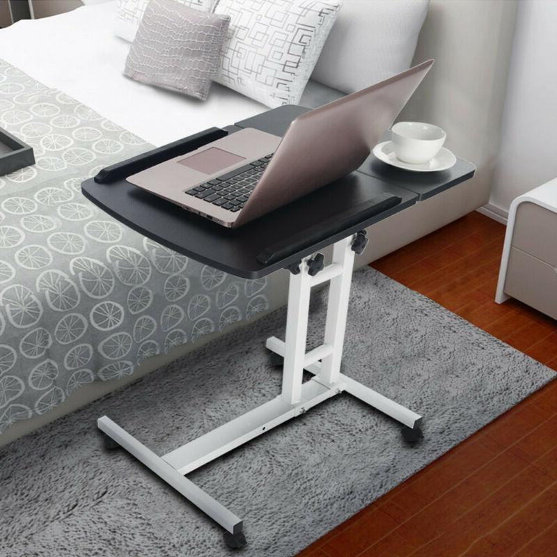 Folding Writing Table Rolling Laptop Notebook Computer Desk