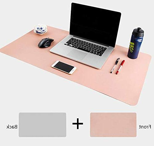 iKammo Leather Large Gaming Pad Desk Writing for Stationery