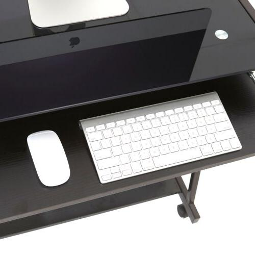 Computer Desk Home Laptop PC Table with Black