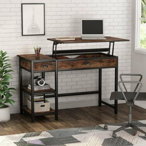 Computer 47'' with Shelves