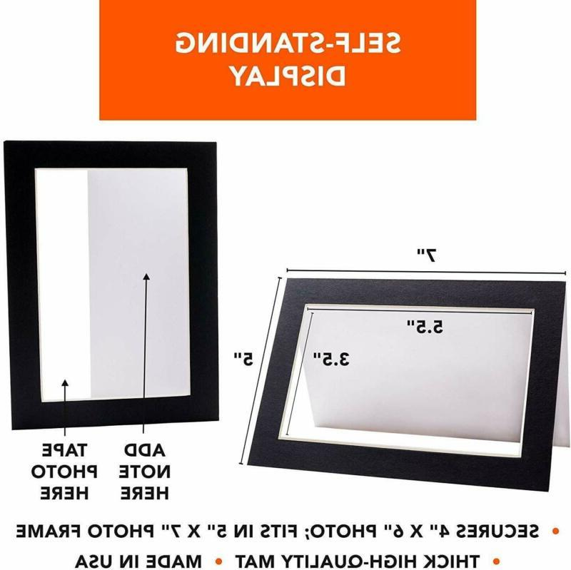 Self-Standing Cards Photo Insert   Matboard Cards Includ