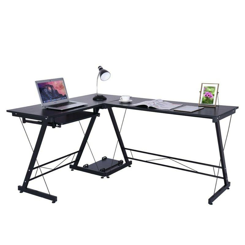 Simple Computer Laptop Office Study Table Workstation 2