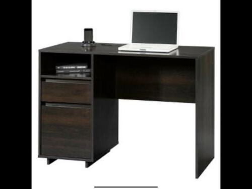 small computer desk table with drawers
