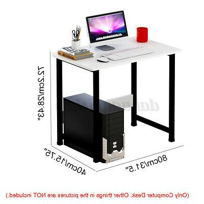 US Computer Table Study Furniture PC Workstation