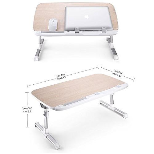 AboveTEK Stand Bed, Lap for Sofa Height Reading Drawing Computer Table