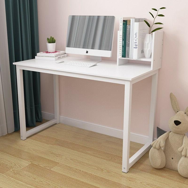 White Computer Study PC Laptop Home Workstation